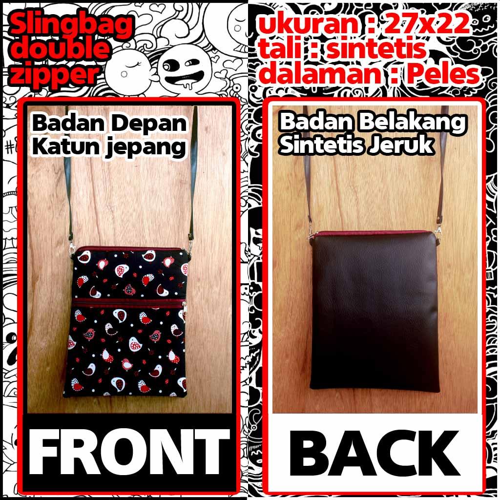 Distributor Sling Bag Murah Bandung | penjualtaskanvas
